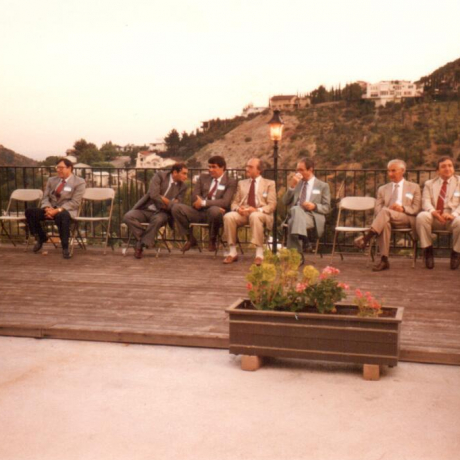 Celebratory Get Together Following the AMWC - May 1988