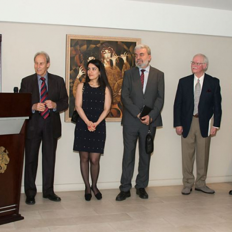 Heroes and Healers Reception at Consul General of Armenia - 04.10.15