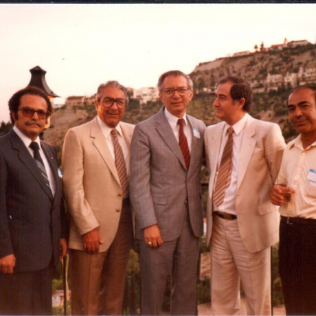 Inception Gathering at the Home of Dr. Misak Barsamian - August 1985
