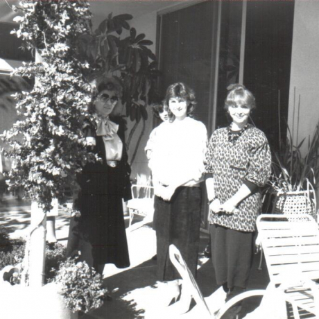 Ladies Auxiliary Get Together - 1986