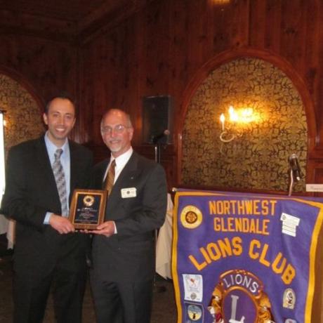 Lions Club Awarding